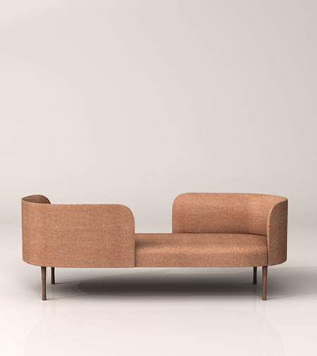 Josephine by Moroso, the new tête-à-tête sofa
