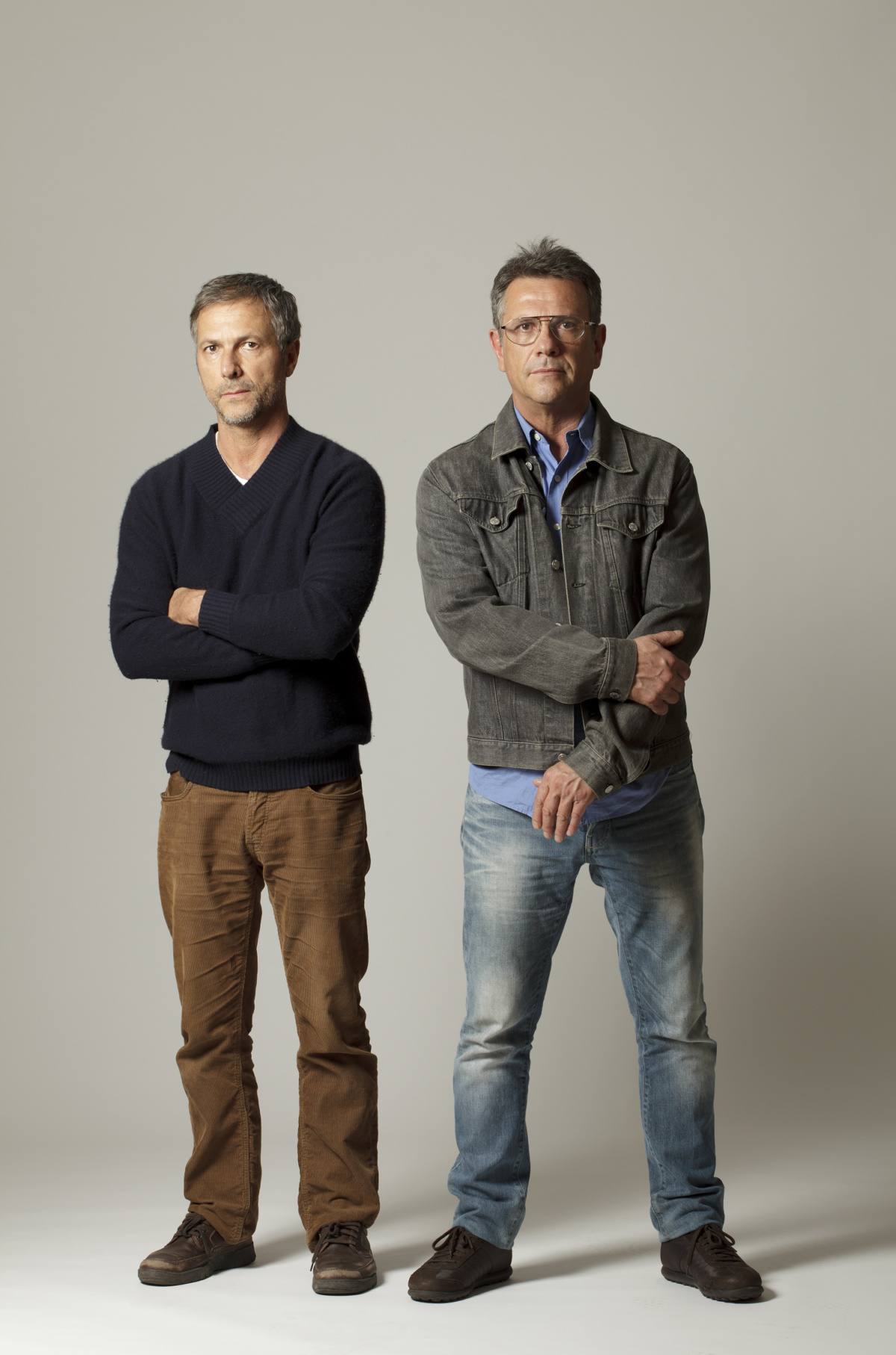 The brothers Fernando and Humberto Campana, the founding partners of the Estudio Campana in Sao Paulo, Brazil