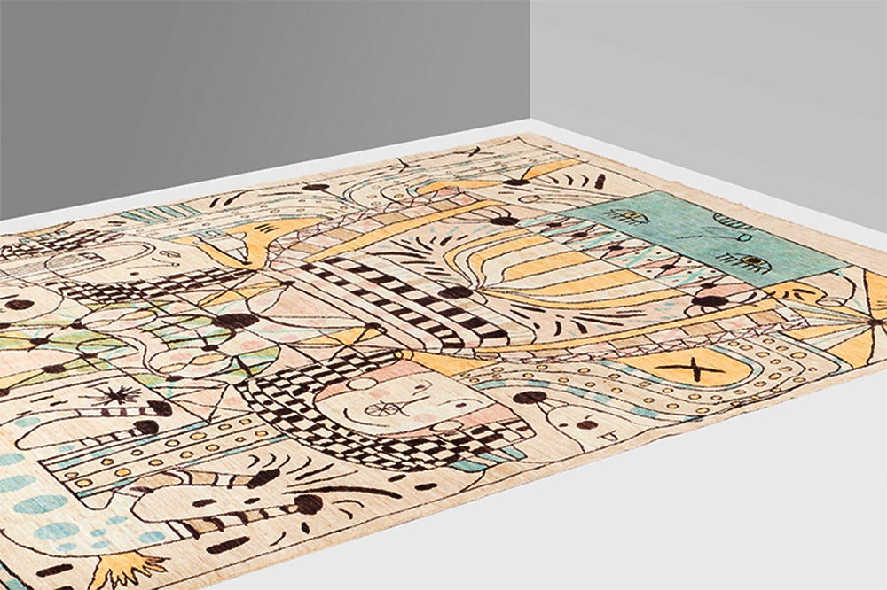 Nodus rug Folklore collection