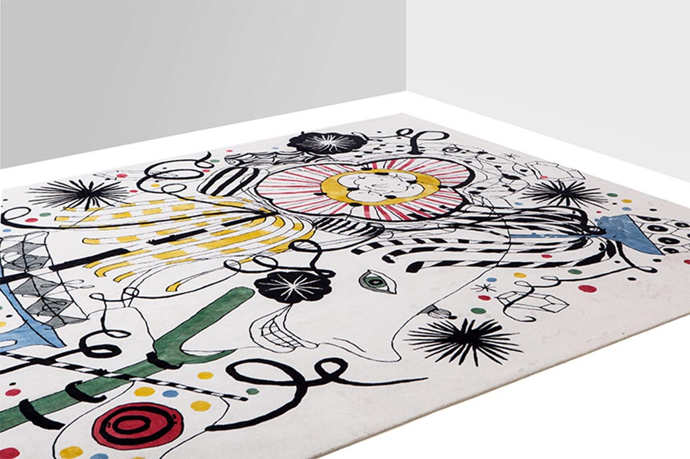 Design rugs by Jaime Hayon, Folklore collection for Nodus