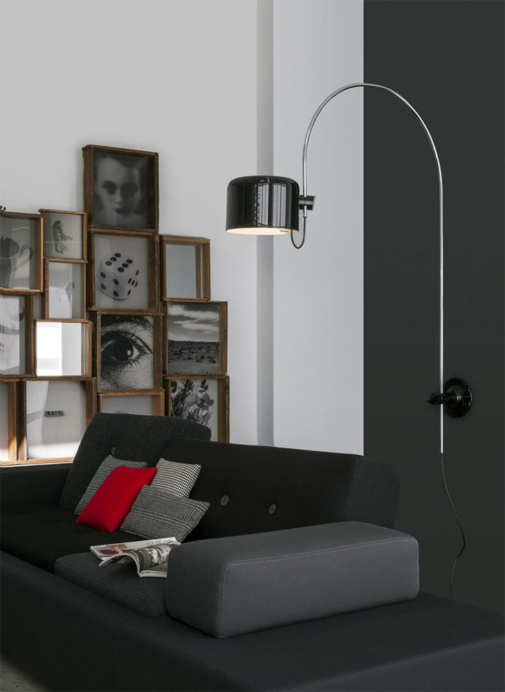 lampada coup di oluce immagini. Black Bedroom Furniture Sets. Home Design Ideas