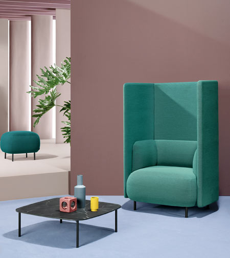 Buddyhub by Pedrali, the new smart armchair
