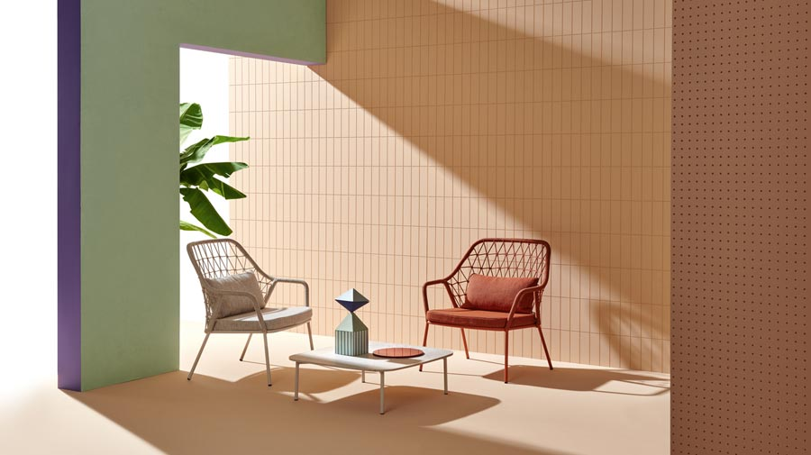 Panarea by Pedrali, the outdoor armchair that weaves style and tradition