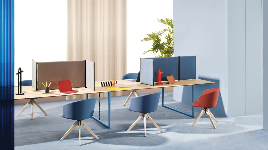 The new Working Spaces by Pedrali