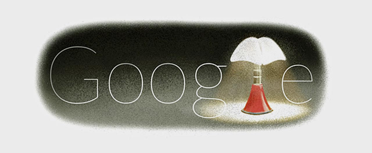 Google Doodle inspired by Gae Aulenti