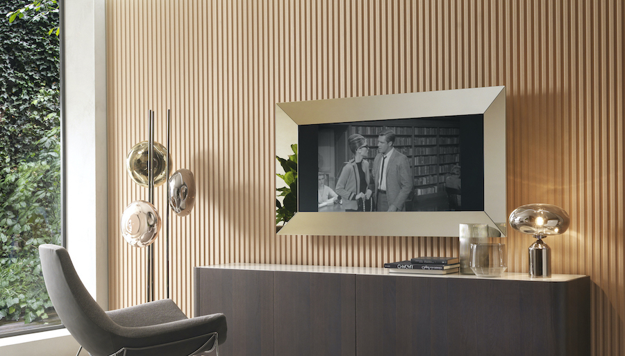 Mirror TV, the mirror that frames the TV