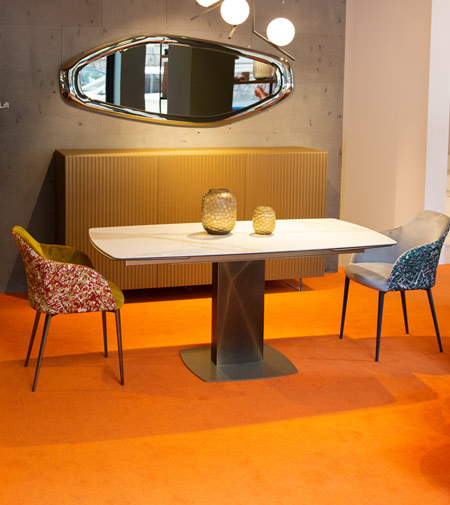 Sabino by Riflessi, the table that changes looks
