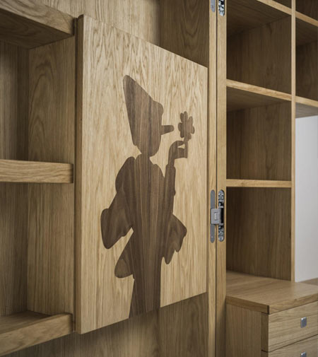 "Pinocchio ""My Book"" by Riva 1920, the fairytale cupboard"