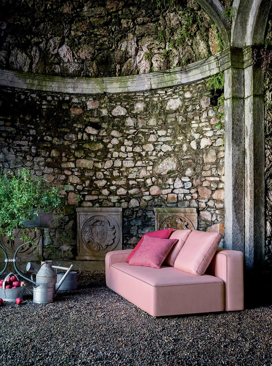 Dandy sofa in pink