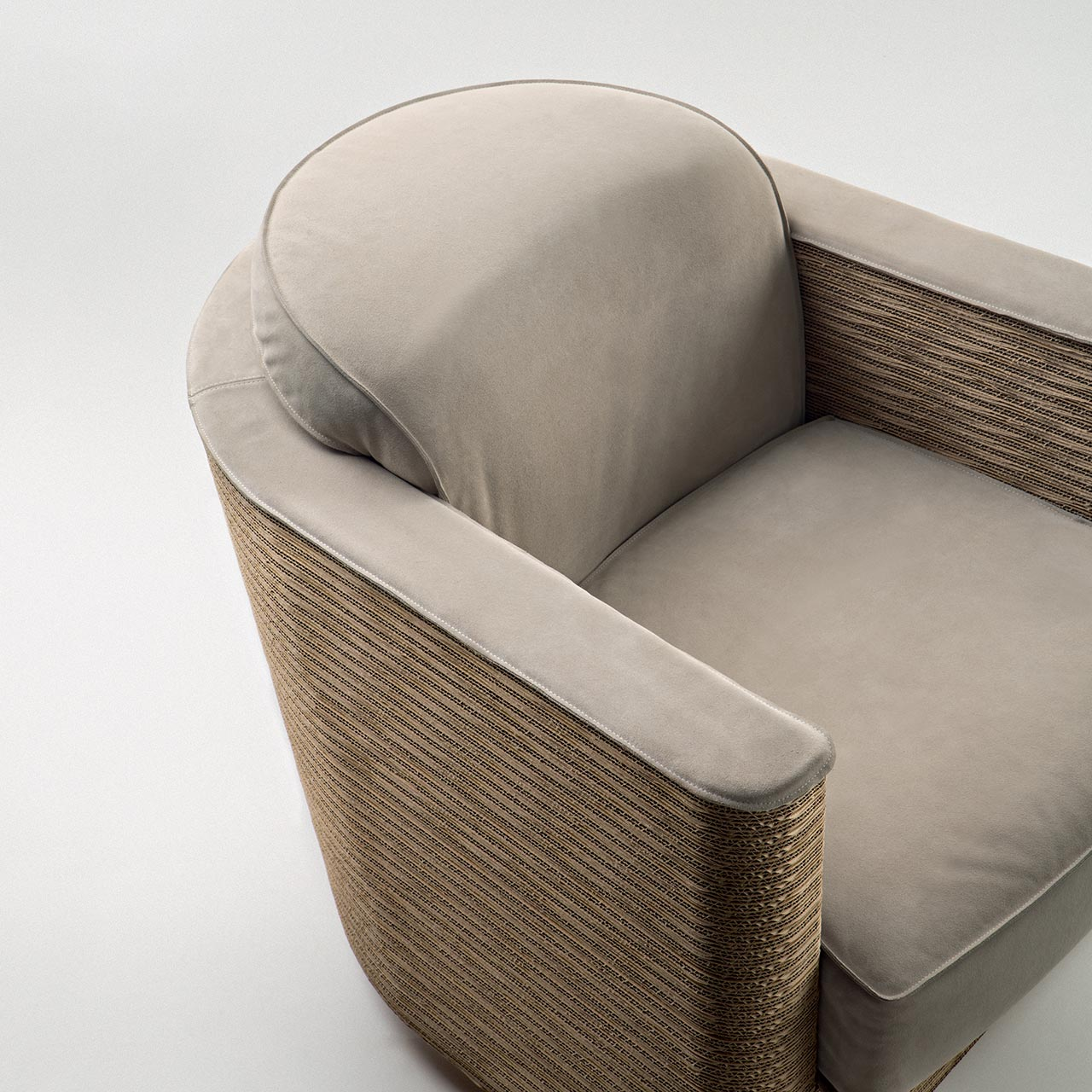 Staygreen, a design detail of Wendy armchair