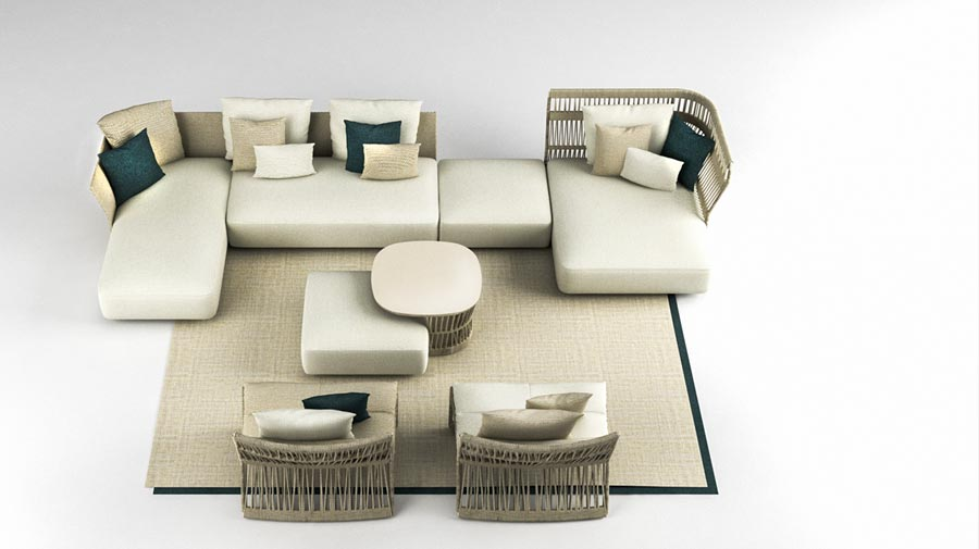 Cliff Collection by Talenti, the new tailor-made outdoor series