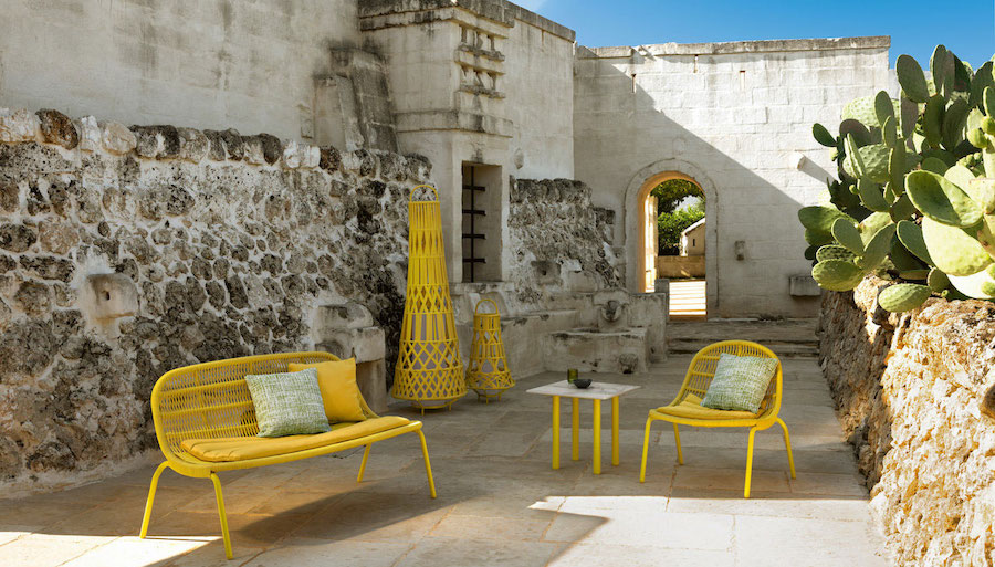 Light weaves and soft lines: The Panama outdoor collection