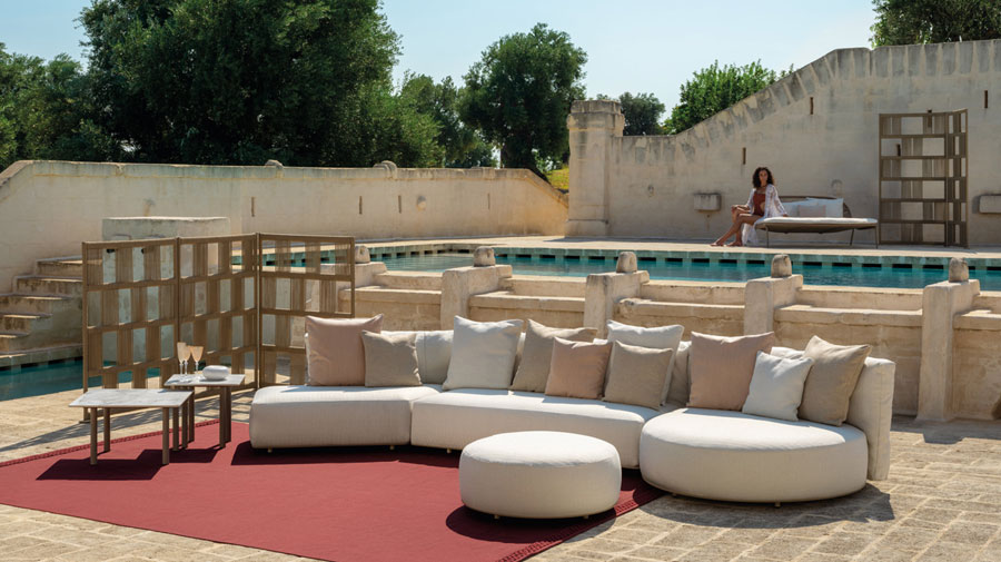 Scacco by Talenti, outdoor furniture blending comfort and style