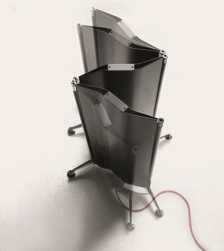 Origami by Tubes, the radiator that folds neatly