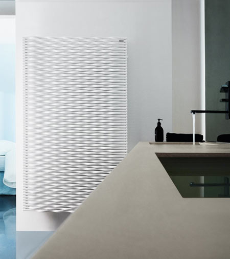 Trame by Tubes, the woven radiator