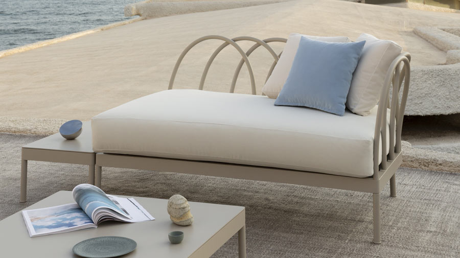 Les Arcs by Unopiù, the new details of outdoor style