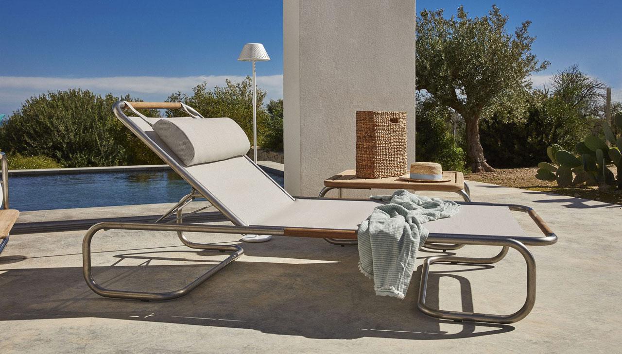 Hugo by Unopiù: a first-rate sunbed for summer