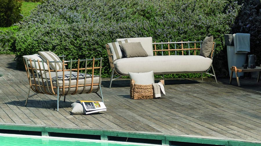 Tweed by Unopiù, the living room collection for indoors and out