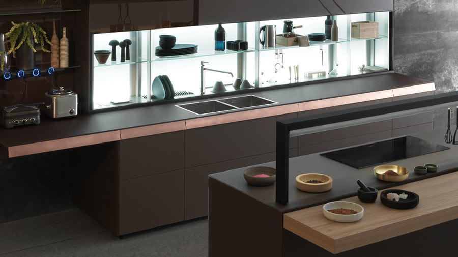 V-Motion by Valcucine, the latest kitchen automation system