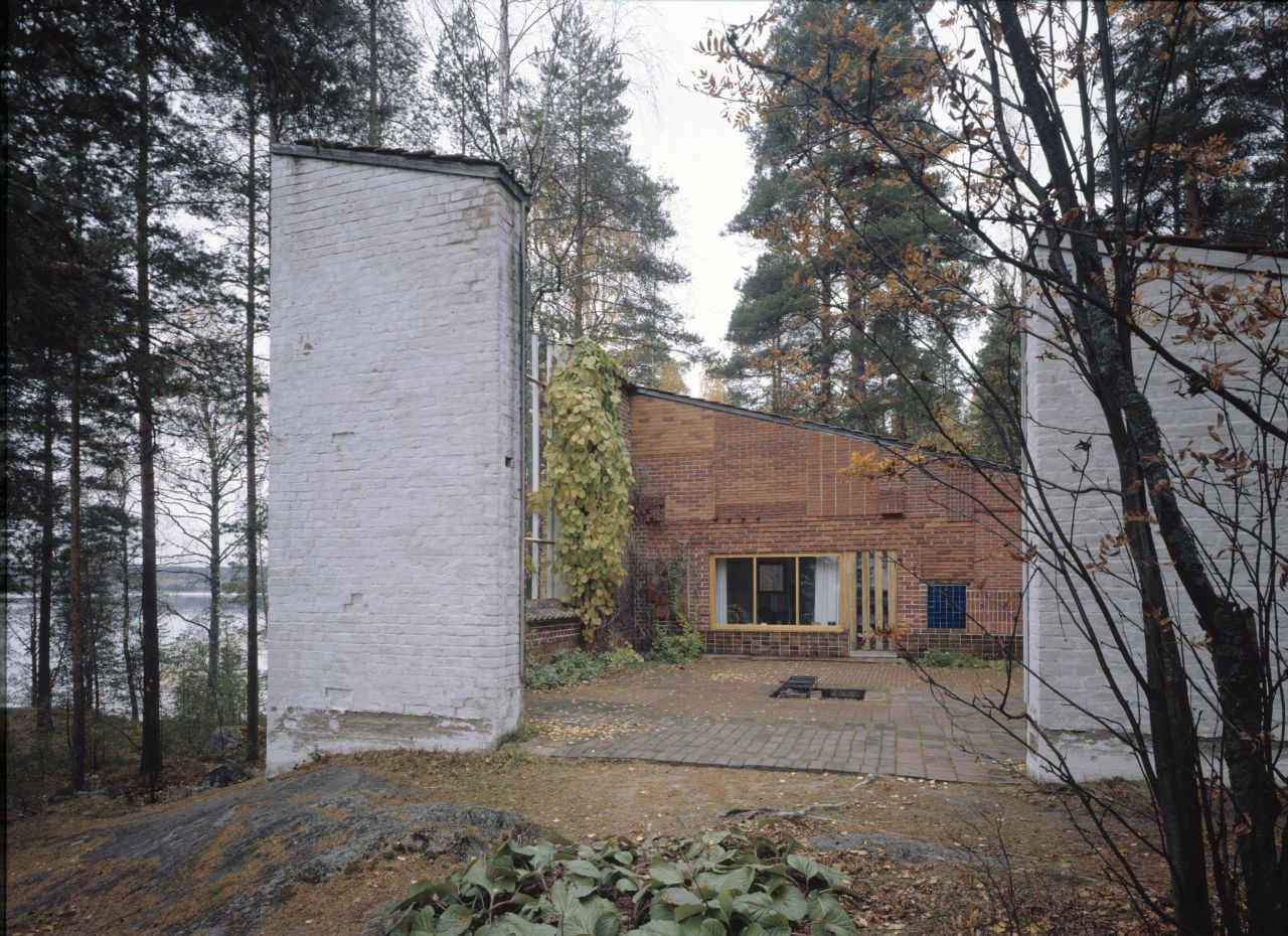 Experimental House, Muuratsalo (1952) - Photo: © Alvar Aalto Museum