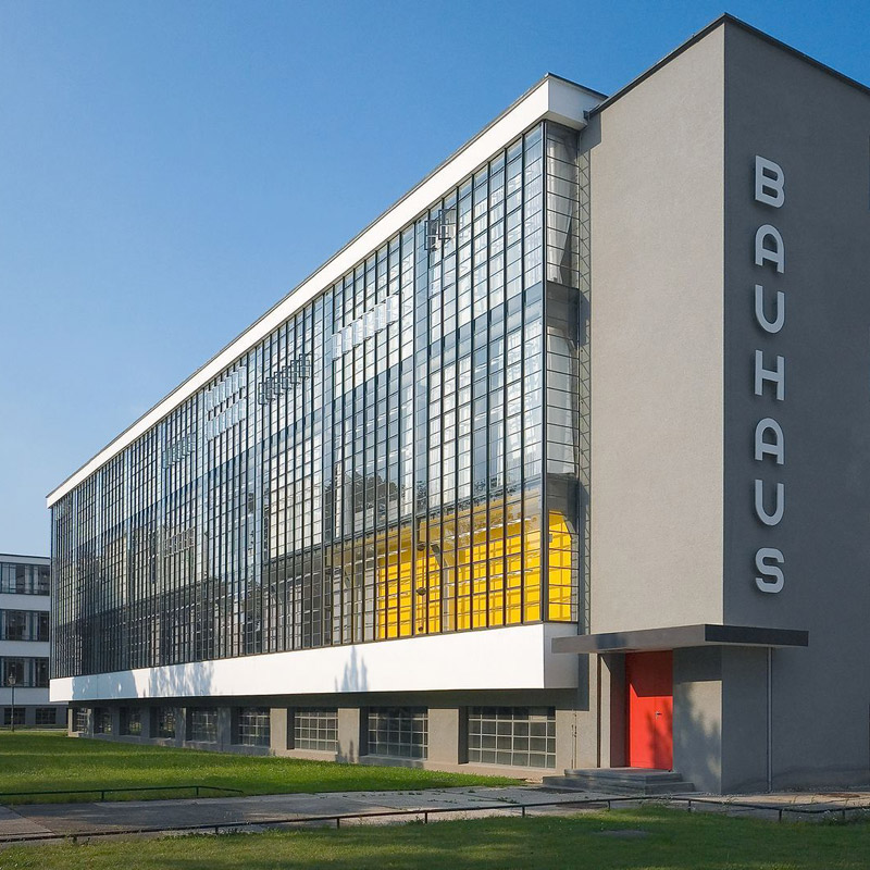 The Bauhaus building