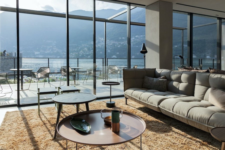 The Sereno Hotel on Lake Como: a breath of modernity from Patricia Urquiola