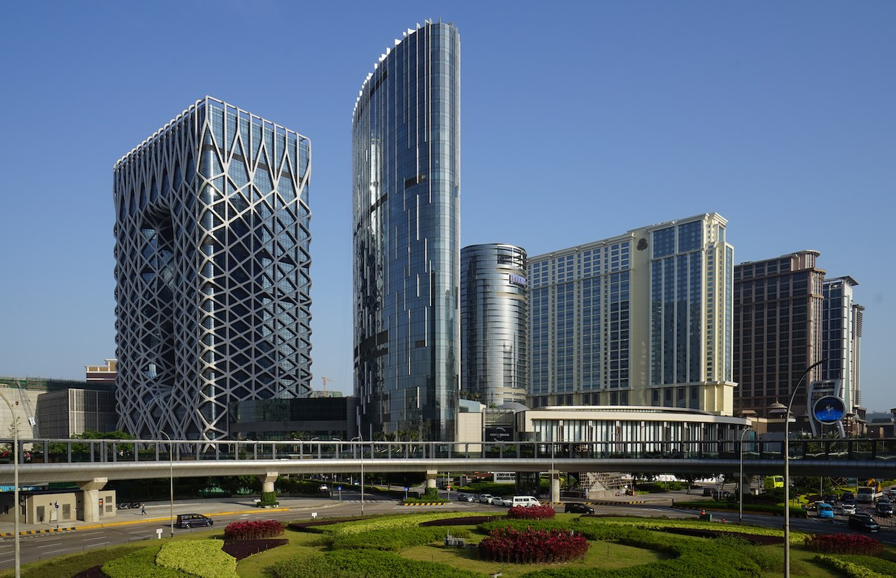 Morpheus Hotel in Macau in the Cotai Strip