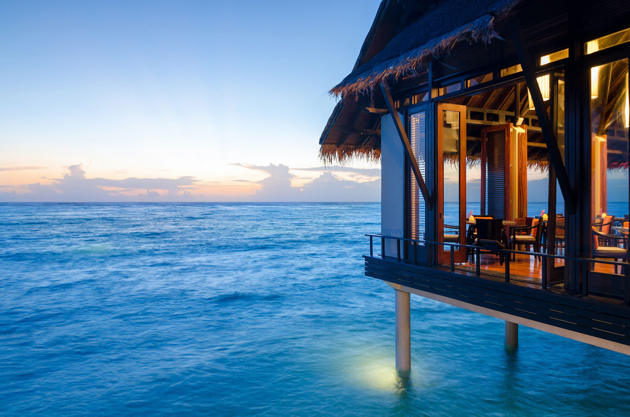 Hotel One & Only Reethi Rah, Maldivesly & One Resort, Reethi Rah, Maldive