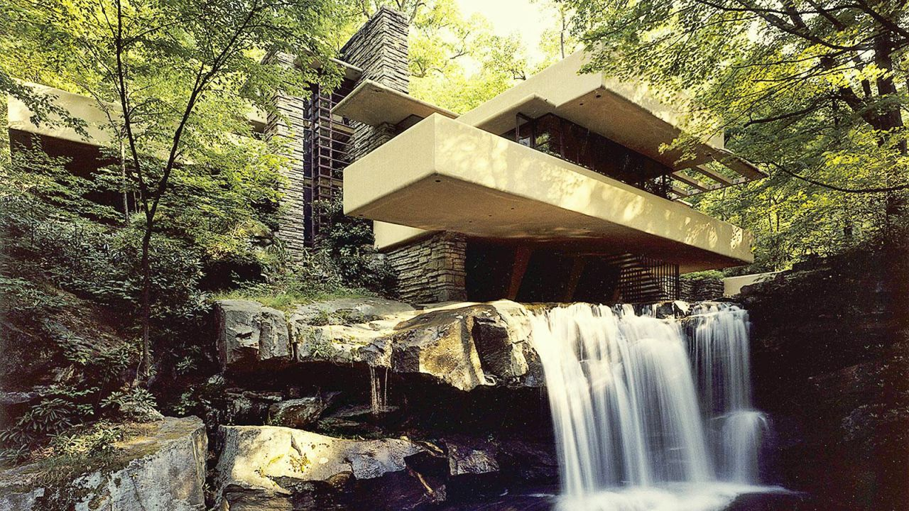 Fallingwater frank lloyd wright 39 s most famous building for Architettura wright