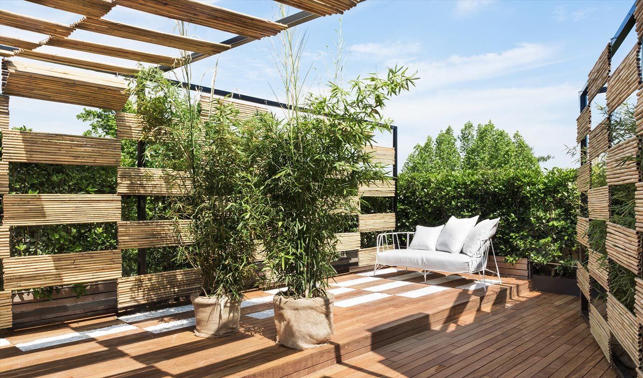 Roof garden - the rational use of the roof