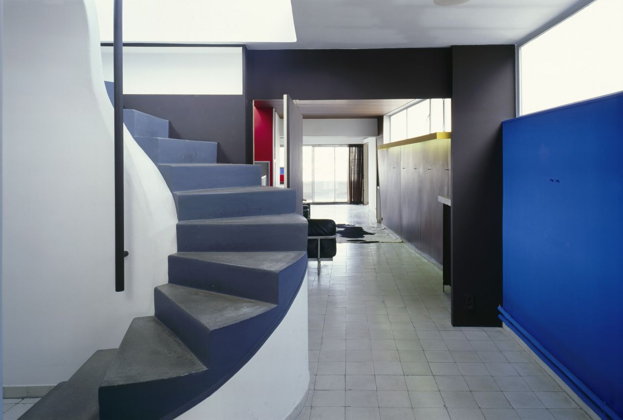 Le Corbusier's apartment - design studio: interiors