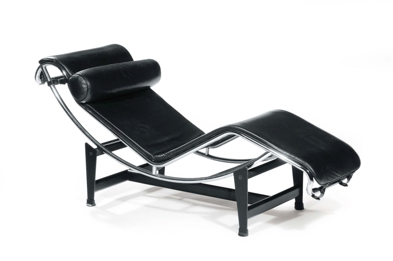 LC4 chaise-longue, designed by Le Corbusier, Pierre Jeanneret and Charlotte Perriand