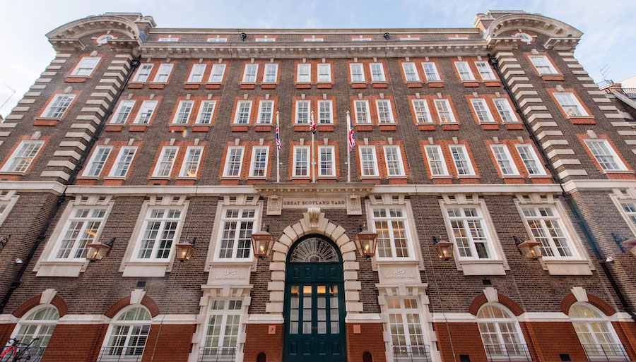London: a luxury hotel in Scotland Yard's historic headquarters
