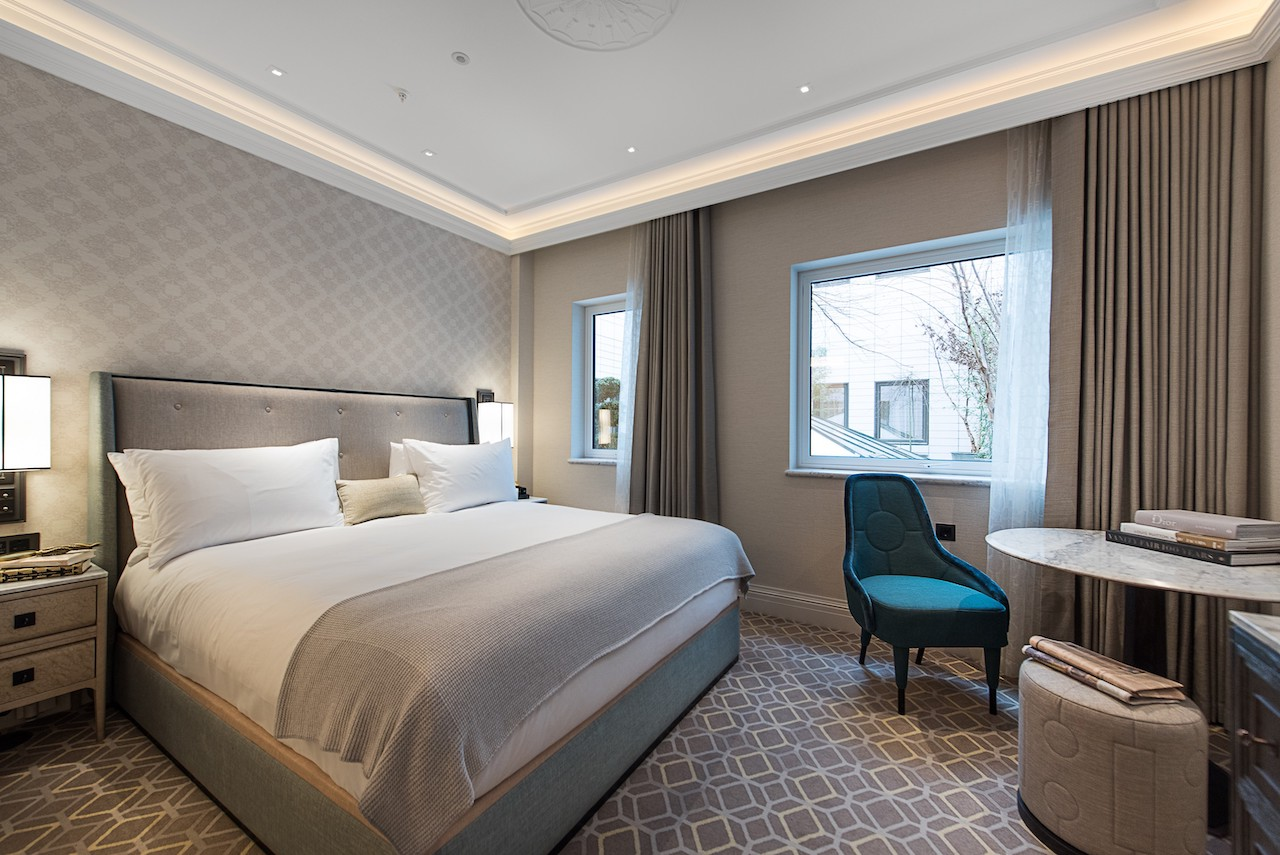 Great Scotland Yard Hotel, London, UK. Fitted furniture by Lema Contract.