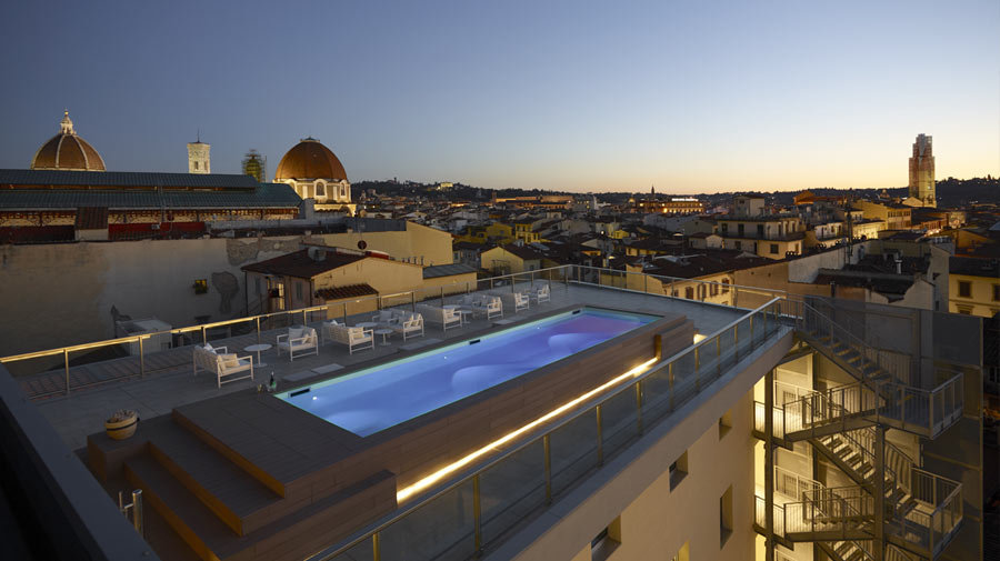 Lema at the Glance Hotel, a lux abode in the heart of Florence