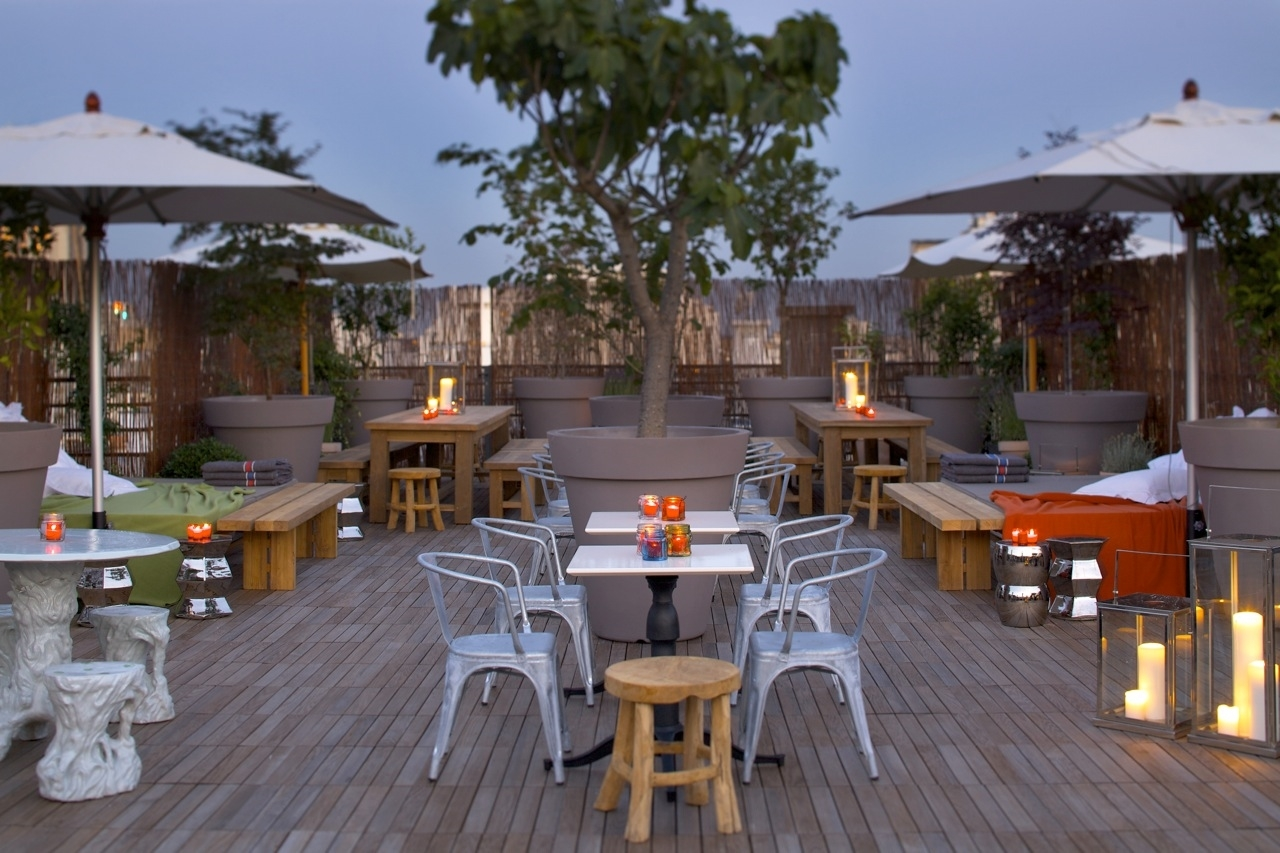 Mama Shelter Paris: roof terrace