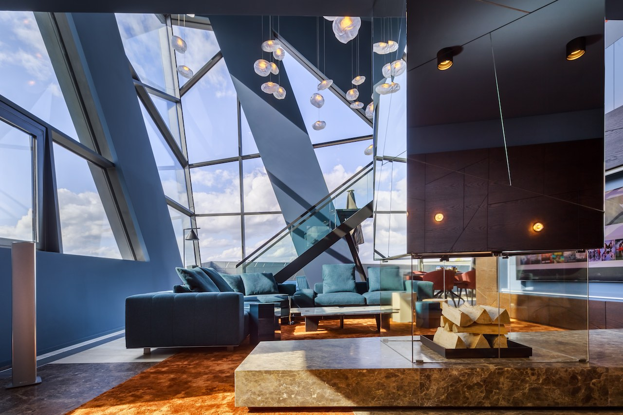 Libeskind in Berlin: the archistar's fabulous attic apartment
