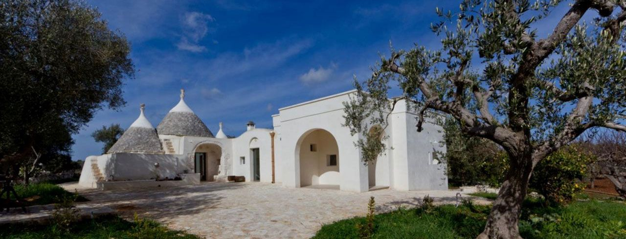 A view of the trulli, renovated by Arkitetti