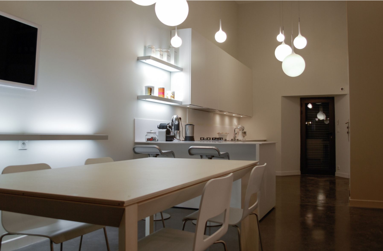 Bulthaup kitchen, appliances by Gaggenau. Progetto Studio 120, Piacenza