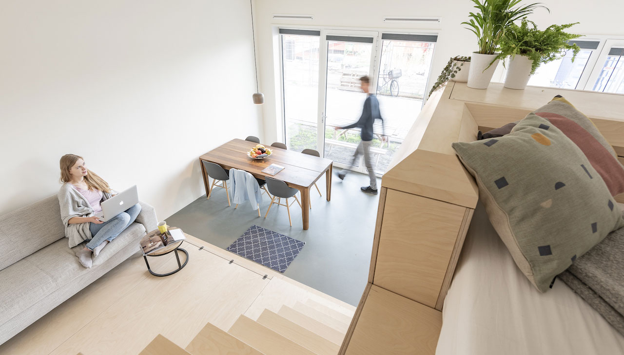 BEST SOLUTIONS – In Amsterdam, an entire home in 45 m2