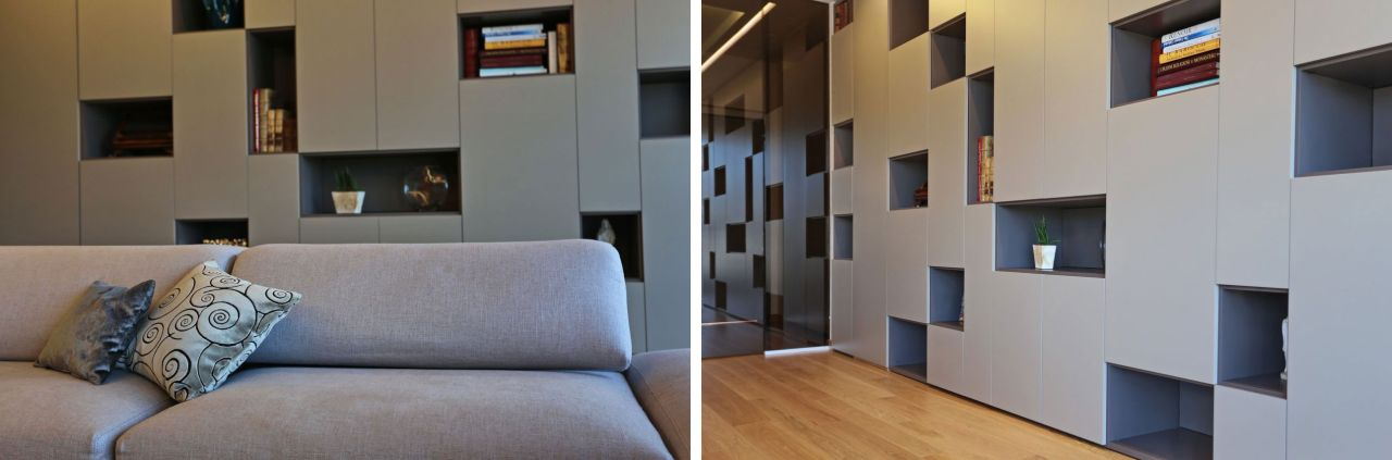 Lema bookcase/ storage Selecta by Lema