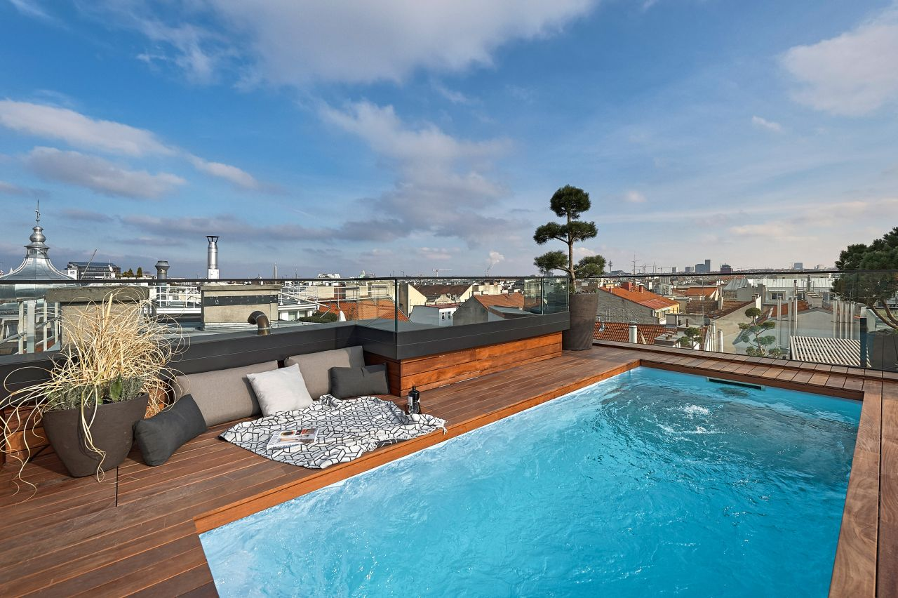 A luxury penthouse in Vienna: welcome back to town!