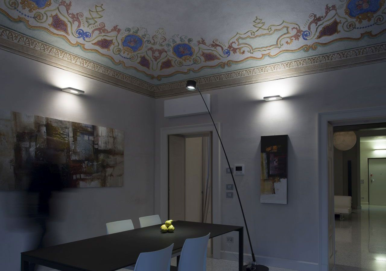 A dialogue between past and present in a period property in Piacenza