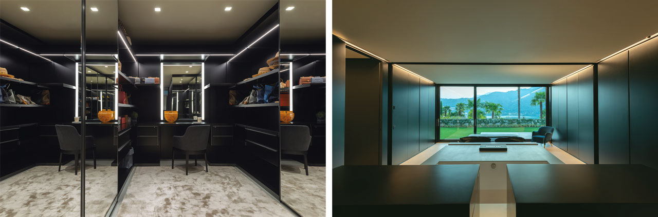 walk-in closet Gliss Master designed by Vincent Van Duysen for Molteni&C