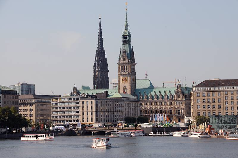 The city of Hamburg
