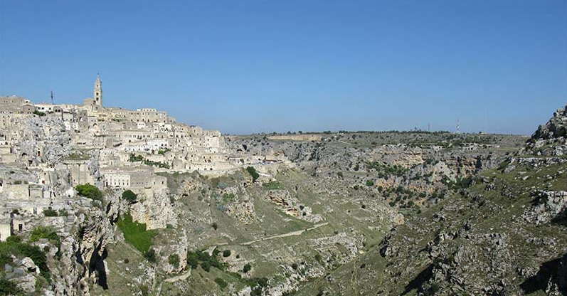 "Matera was the first Italian ""World Heritage Site""."