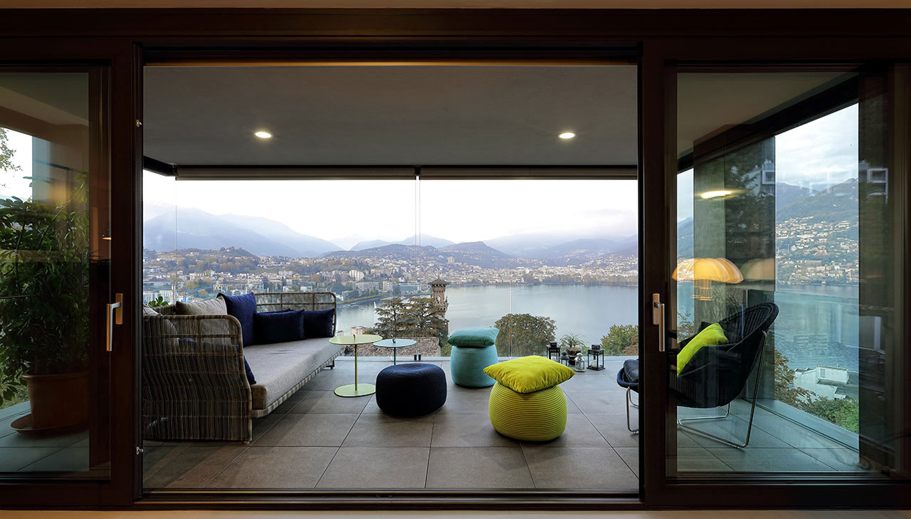 A masterpiece of modern design on Lake Lugano
