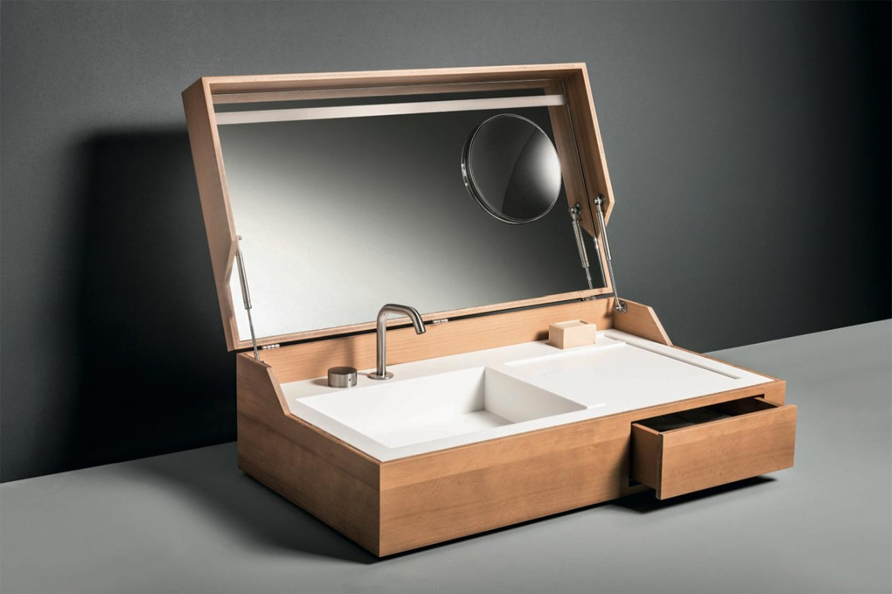Hidden washbasin Makro