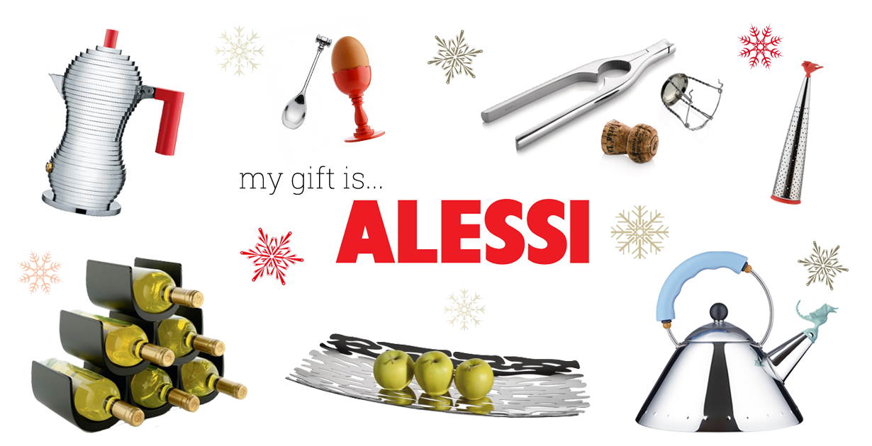 moodboard alessi for christmas