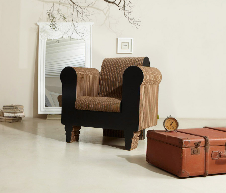 clorinda armchair by kubedesign